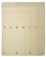 RUSCHA, Edward. Thirtyfour Parking Lots in Los Angeles