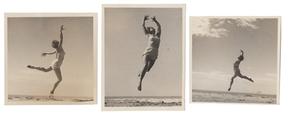 Beach Dancer Triptych