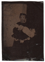 Haunted Doll Tintype