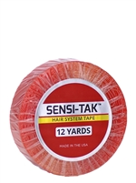 "Sensi-Tak 3/4"" x 12yds - Hair Tape Adhesive -- Walker Tape"