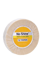 "No-Shine 3/4"" x 12yds - Hair Tape Adhesive -- Walker Tape"