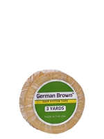 "German Brown 3/4"" x 3yds - Hair Tape Adhesive -- Walker Tape"