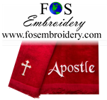 "Title Only "" Apostle"" Towel Closeout 2 Pack"