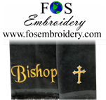 "Title Only "" Bishop"" Towel Closeout 2 Pack"