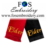 "Title Only "" Elder"" Towel Closeout 2 Pack"