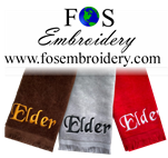 "Title Only "" Elder"" Towel Closeout 3 Pack"