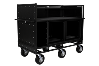 Extended Double Mixer Cart