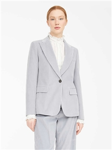 MaxMara Weekend Elia soft grey cord jacket,
