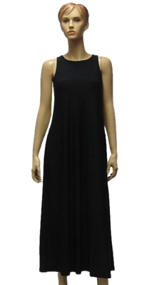 MaxMara Leisure Fischio stretch jersey midi length black dress