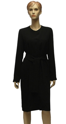 Riani black coat with a round neck