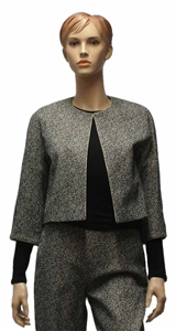 MaxMara Studio Marche crop jacket 3/4 sleeve