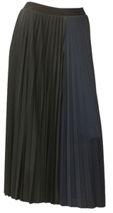 MaxMara Studio Dotto ink and french blue shaded skirt