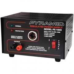 10 Amp 13.8 Volt Power Supply with Car Charger Adapter