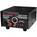 5/7 Amp 13.8 Volt Power Supply with Car Charger Adapter