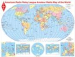 Ham Radio Map of the World