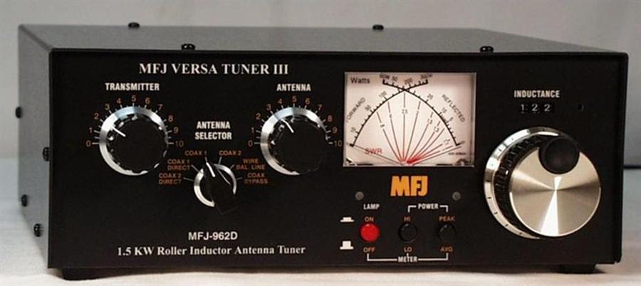 MFJ-962D Antenna Tuner (160 - 10Meters) - 1 5 KW