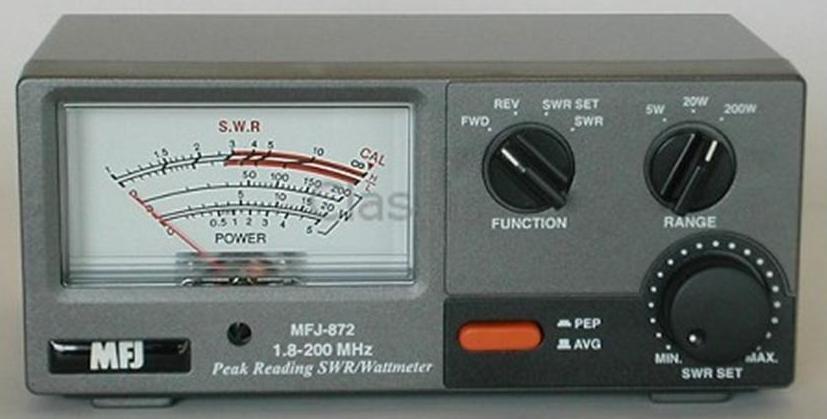 1.8-200Mhz MFJ-872 SWR meter 5//20//200W