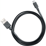 Ventev - USB Type A -> C 2.0 Cable, Black, 6ft