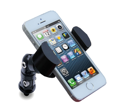 Techmount Yamaha and Kawasaki Motorcycle 10 mm Mirror TechGripper Cell Phone Mount