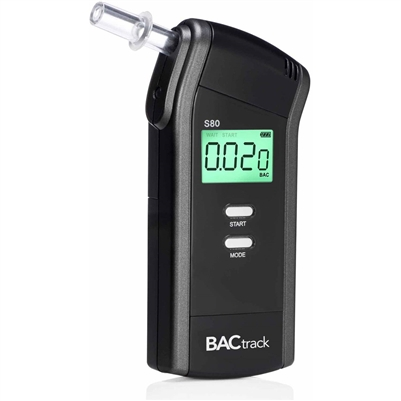 The BACtrack S80 Pro Breathalyzer and Alcohol Detector