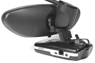 BlendMount Porsche Radar Detector Mirror Mounts