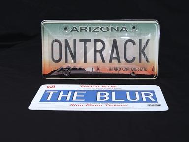 Ontrack Photo Blur - Anti Photo Enforcement Cover