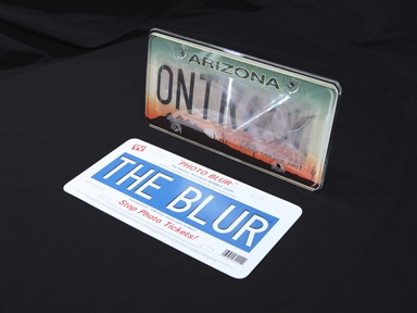 The Ontrack Photo Blur License Plate Covers Radarbusters Com