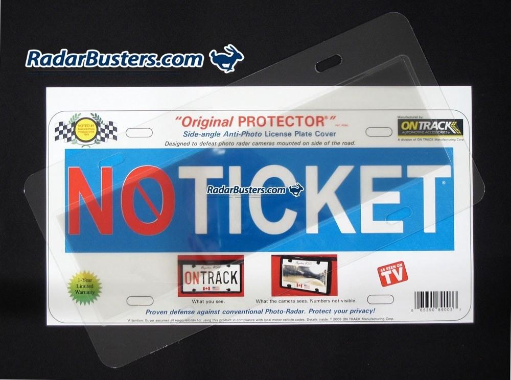 Original Protector - Anti-Radar License Plate Cover by Ontrack License cover plates photo radar
