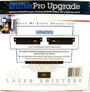Escort Laser ShifterPro Upgrade Pacl