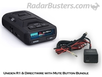 Uniden R1 & Hardwire Kit with Mute Button