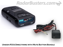 Uniden R3 & Hardwire Kit with Mute Button