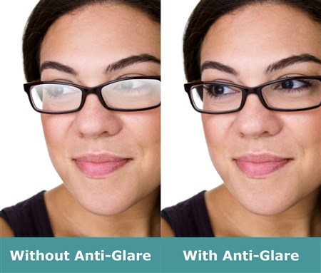 Anti Glare Lens Coating