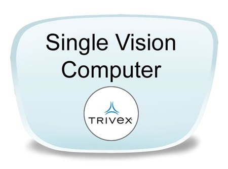 Younger Single Vision Trivex Prescription Eyeglass Lenses