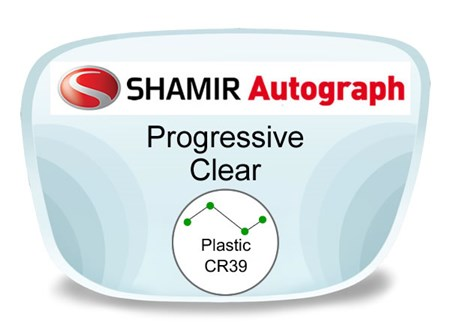 Shamir Autograph 2 Digital (HD) Progressive Plastic Prescription Eyeglass Lenses