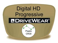 Digital (HD) Progressive Plastic Drivewear Prescription Eyeglass Lenses