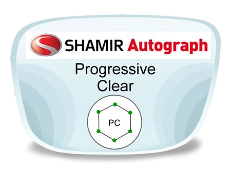 Shamir Autograph 2 Digital (HD) Progressive Polycarbonate Prescription Eyeglass Lenses
