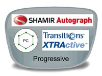 Shamir Autograph 2 Digital (HD) Progressive Polycarbonate Transitions XTRActive Prescription Eyeglass Lenses