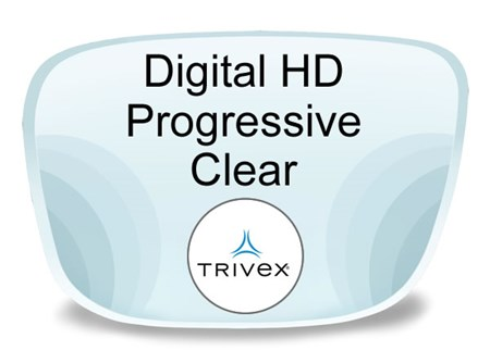 Digital (HD) Progressive Trivex Prescription Eyeglass Lenses