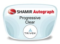 Shamir Autograph 2 Digital (HD) Progressive Trivex Prescription Eyeglass Lenses