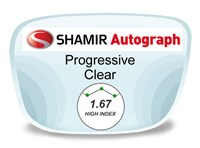 Shamir Autograph 2 Digital (HD) Progressive High Index 1.67 Prescription Eyeglass Lenses
