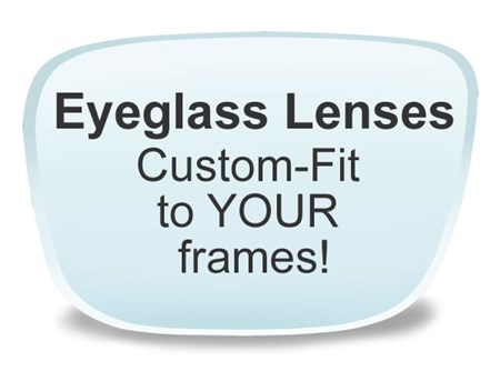 Lens for glasses