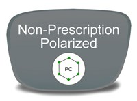 Non-Prescription Polycarbonate Polarized Eyeglass Lenses