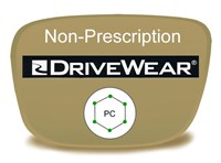 Non-Prescription Polycarbonate Drivewear Eyeglass Lenses