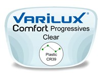 Varilux Comfort 2 Progressive (no-line) Plastic Prescription Eyeglass Lenses