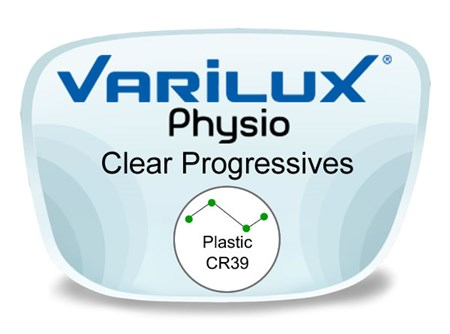 Varilux Physio Progressive (no-line) Plastic Prescription Eyeglass Lenses
