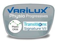 Varilux Physio Progressive (no-line) Plastic Transitions VI Prescription Eyeglass Lenses