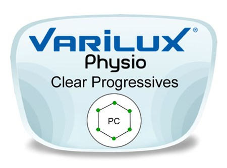 Varilux Physio Progressive (no-line) Polycarbonate Prescription Eyeglass Lenses
