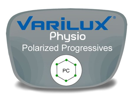 Varilux Physio Progressive (no-line) Polycarbonate Polarized Prescription Eyeglass Lenses