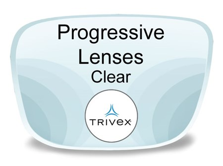Progressive (no-line) Trivex Prescription Eyeglass Lenses