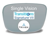 Single Vision Trivex Transitions VI Prescription Eyeglass Lenses